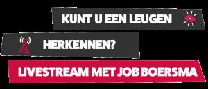 Job Boersma livestream
