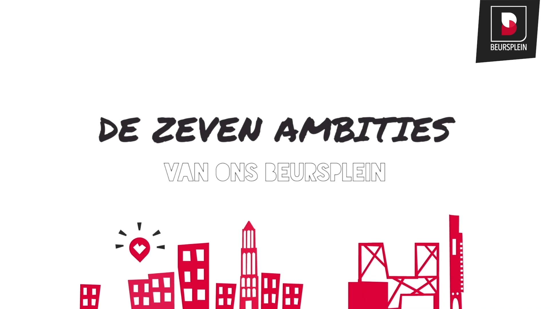 Beursplein Utrecht - zeven ambities - jaarbeursplein